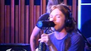 "Cage The Elephant performing ""Back Against The Wall"" on KCRW"