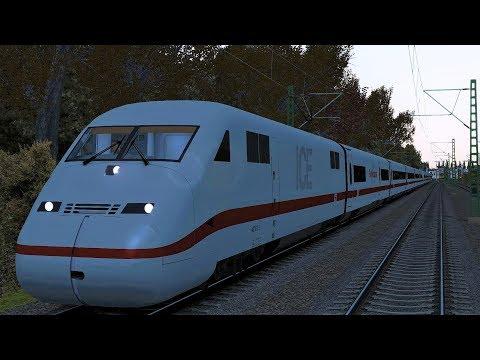 "BR402 ICE 2 ""Herbstlaub"" Berlin Gesundbrunnen - Leipzig HBF Train Simulator 2017"
