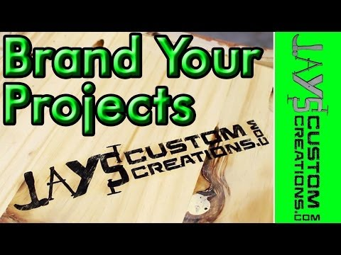 INEXPENSIVELY Brand Your Woodworking - 123