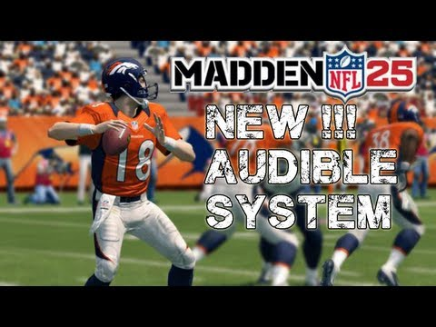 Madden NFL 25 - New !!! Audible System Madden NFL 25 - Formation Shifting + Audibling