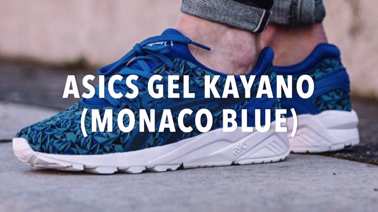 online retailer 4ab39 25aca ASICS GEL KAYANO (MONACO BLUE) SNEAKERS NEWS