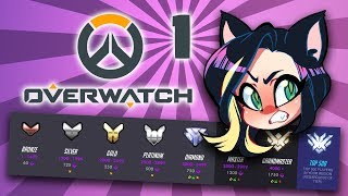 Overwatch: Competitive Placements - PART 1 - Kitty Kat Gaming