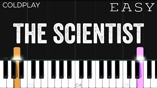 Download Coldplay - The Scientist | EASY Piano Tutorial