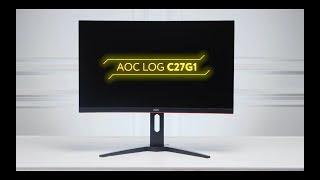 обзор монитора AOC LOGC27G1 в 4k