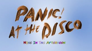 Panic At The Disco - Nine In The Afternoon (Typography Motion Graphic Lyric Video)