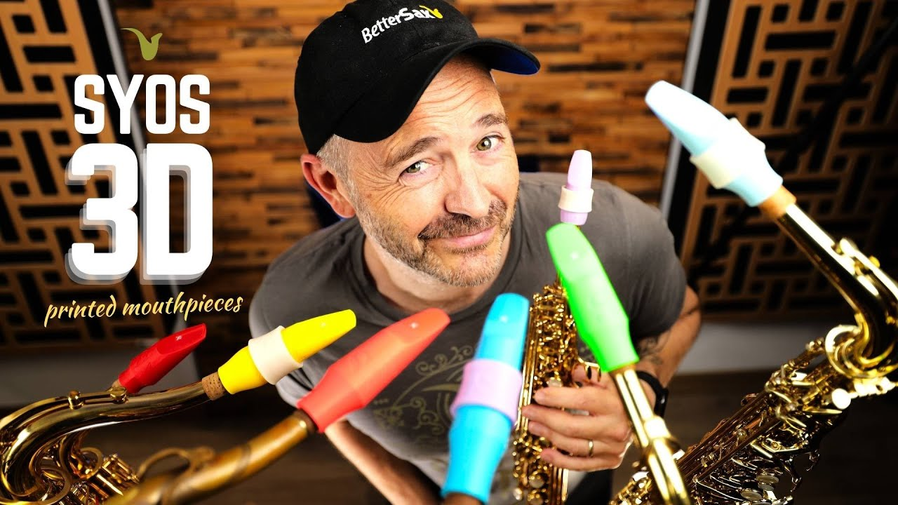 *GIVEAWAY* 3D Printed Saxophone Mouthpieces from SYOS - All Hype?