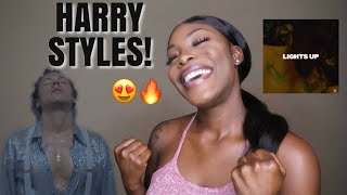 Harry Styles - Lights Up (Official Video) REACTION!! [MUST WATCH] Lala Livingg