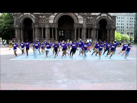 City Spotlights Flashmob @ Copley Square