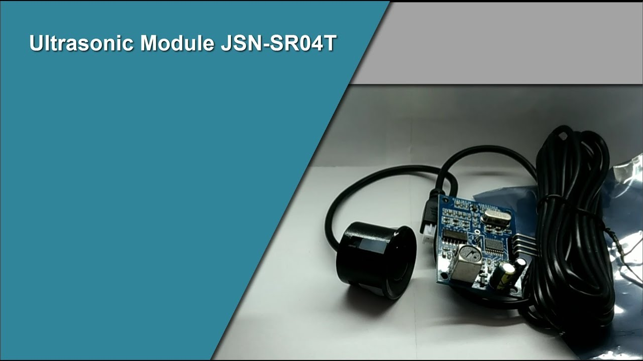 JSN-SR04T Ultrasonic module for Arduino