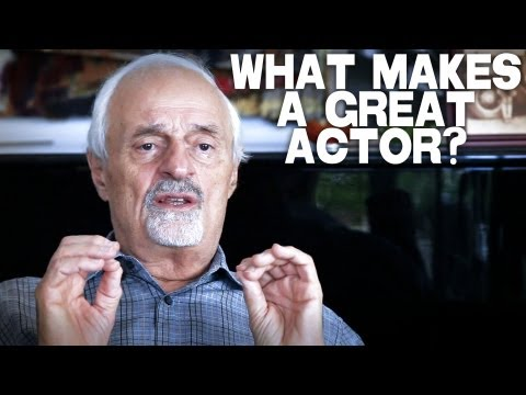 What Makes A Great Actor? by Ted Kotcheff