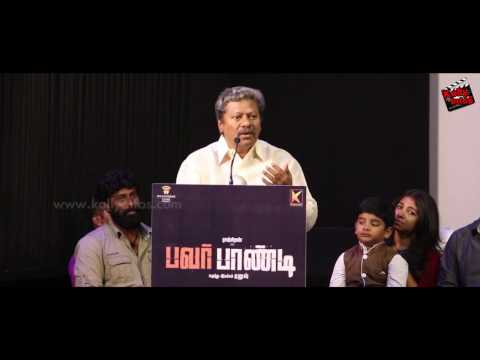 தனுஷ் என்  மருமகன் | Rajkiran Emotional Speech | Power Paandi Press meet