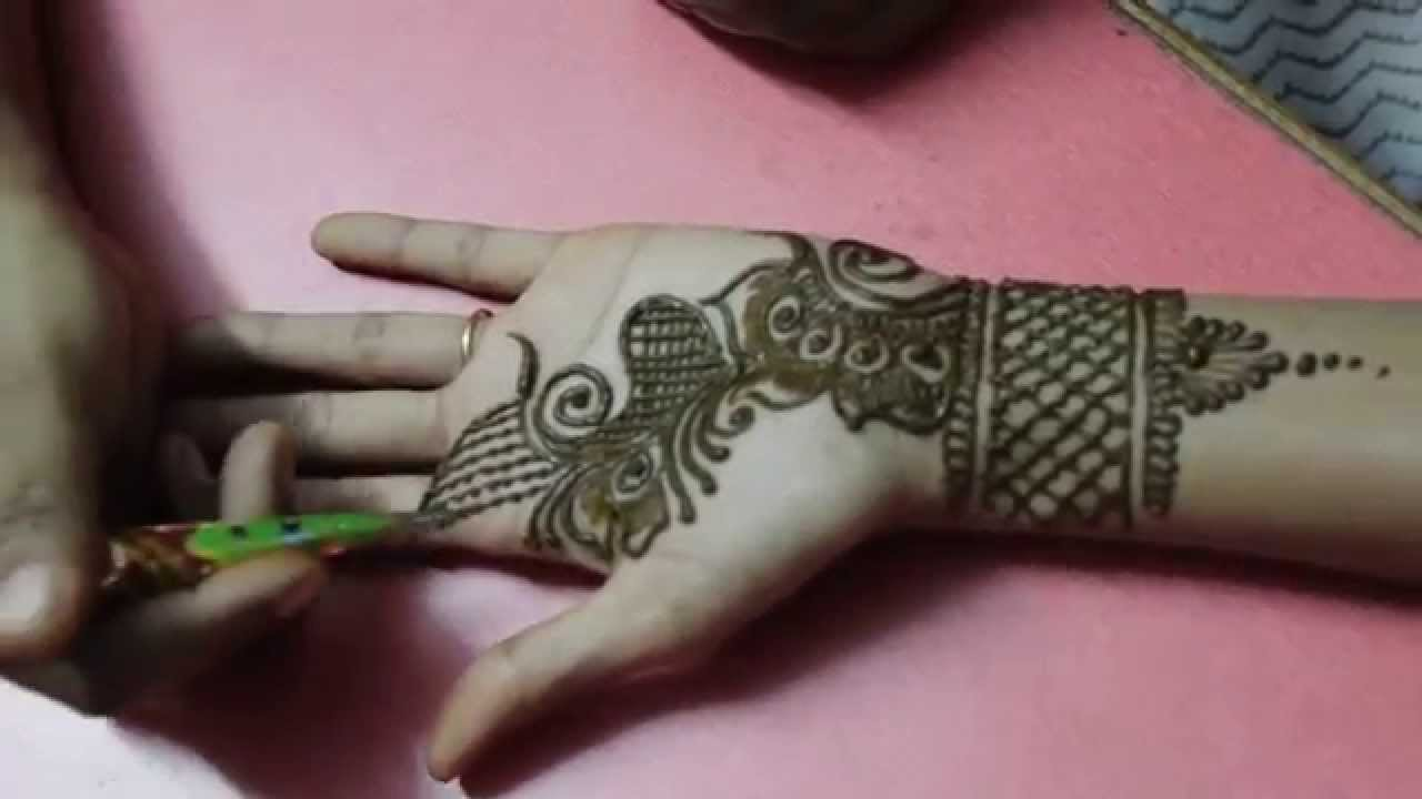 Beautiful Mehndi Design For Front Hands Step By Step Henna Designs