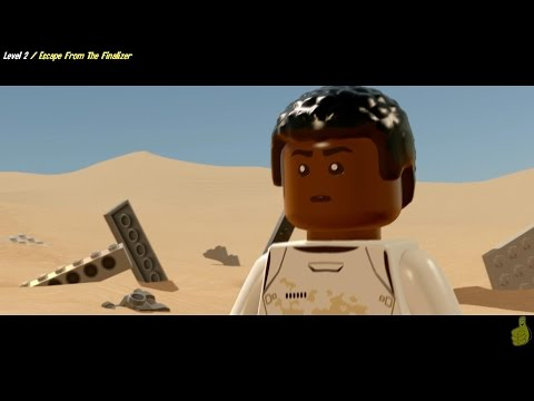 Lego Star Wars The Force Awakens: Lvl 2 / Escape From The Finalizer  STORY - HTG