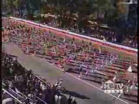 Washington Township HS Marching Band @ the 1998 Rose Parade