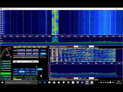 Radio Exterior de Espana 9690 khz Shortwave on Soft66RTL SDR receiver