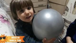 Çocuk videoları.Minik bebek uçan balonlarımızı uçurduk çok eğlendik.FUNNY KİDS