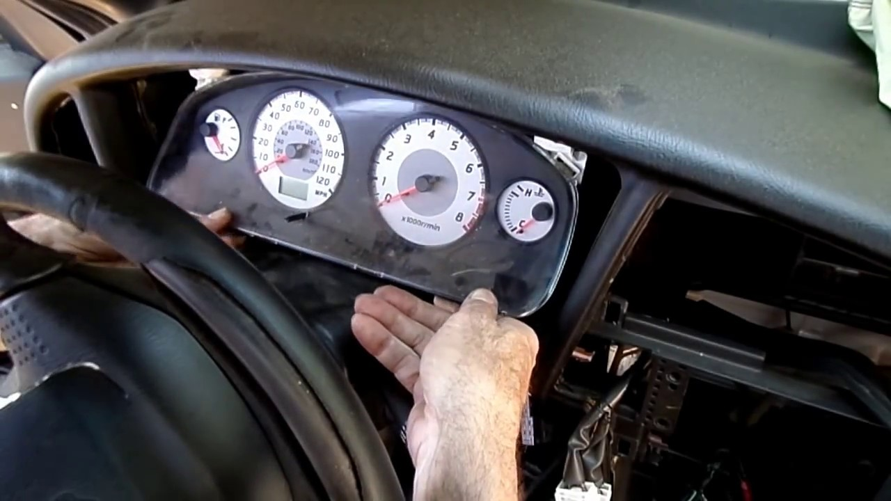 hight resolution of nissan pathfinder instrument cluster removal