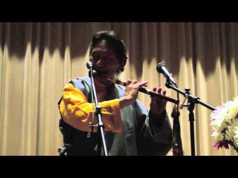 """Sound of Tibet"" Nawang Khechog Books Behind Bars Benefit Concert Charlottesville, VA 3/30/2012"