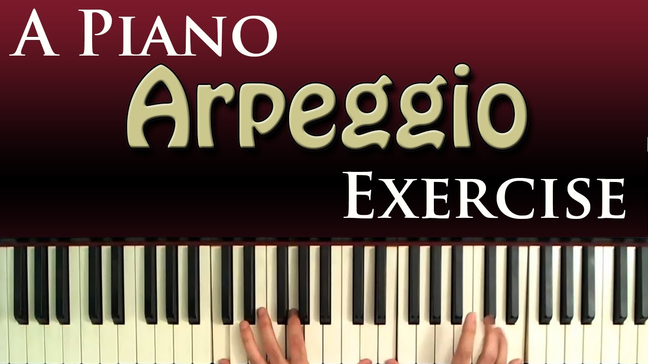 Arpeggio Exercise for Piano Right Hand - YouTube