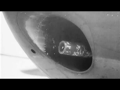 B25  G Bombers w/ 75MM M4 Cannon on a Combat Mission WW2 USAAF Aerial Action Footage