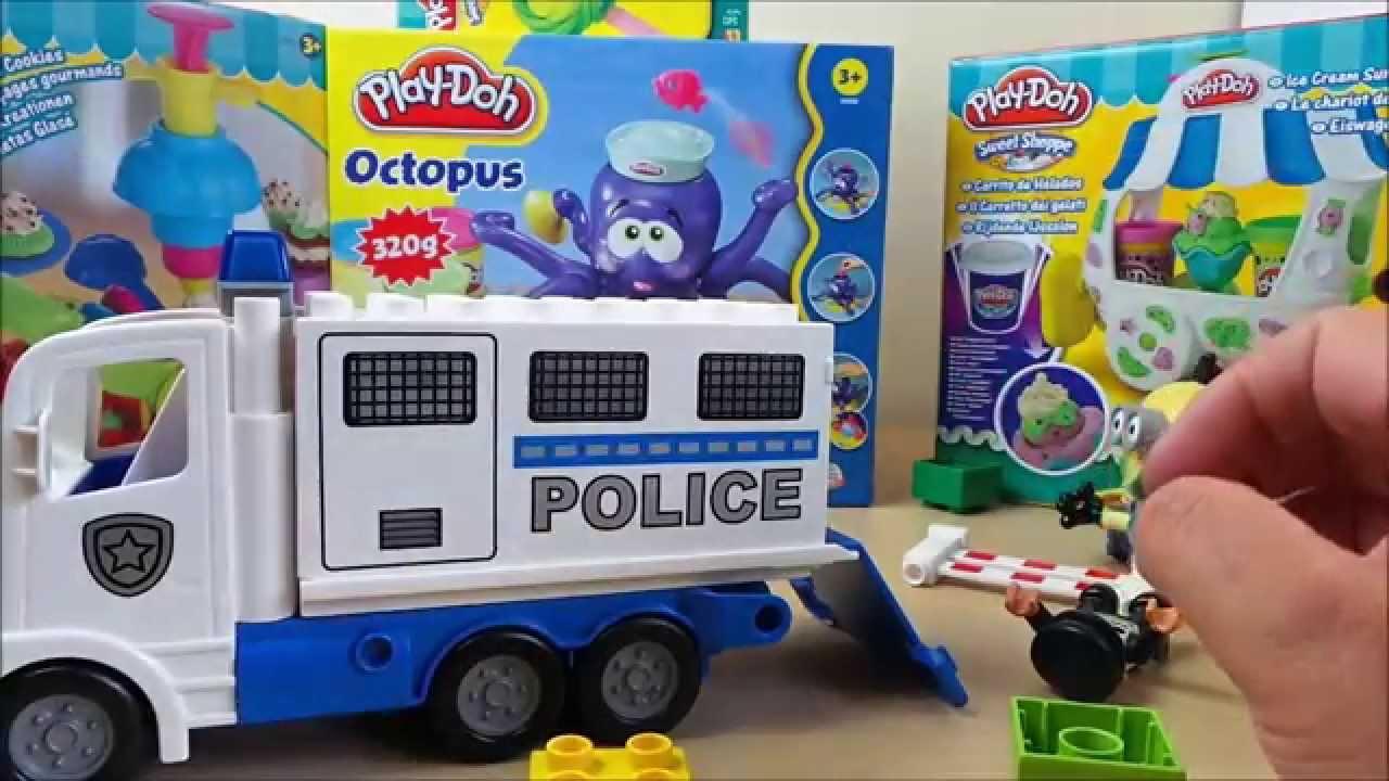 Latest Lego Duplo Toy Police Truck With Burgler Figure Uk Toy