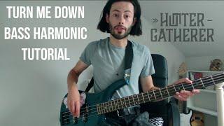 HUNTER-GATHERER - Turn Me Down (Bass Harmonic Tutorial)