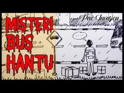 MISTERI BUS HANTU - Cerita Gambar - Cerita Bergambar