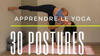 30 asanas - Challenge Yoga pour découvrir 30 nouvelles postures