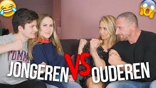 WARD & IK vs. MIJN OUDERS!! - 30 Seconds Challenge