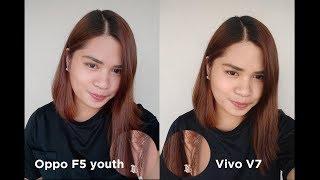 Oppo F5 Youth vs Vivo V7 Comparison + Camera Review