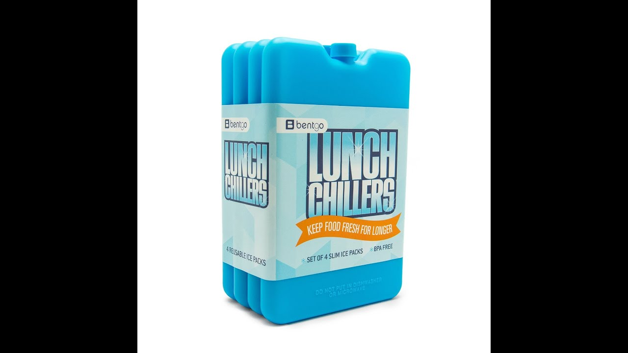 Review Bentgo Ice Lunch Chillers - Ultra-thin Ice Packs (4 Pack - Blue) - YouTube  sc 1 st  YouTube & Review: Bentgo Ice Lunch Chillers - Ultra-thin Ice Packs (4 Pack ... Aboutintivar.Com