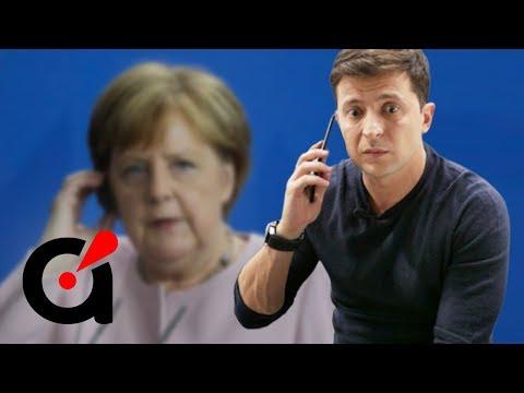 Зеленский срочно позвонил Меркель! Судьба Донбасса решена