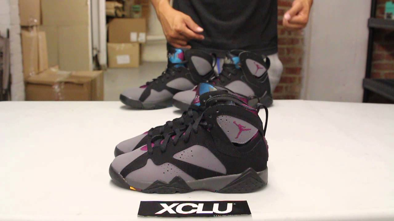 Air Jordan 7 Bordeaux 2015 Gsxr