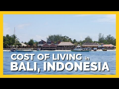 Cost Of Living - Indonesia, Bali 2017 ( 30 Days Cost Summary - Includes Police Fees ;) )