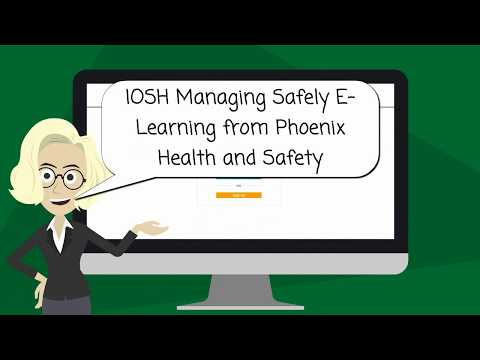IOSH Managing Safely Version 5 E-learning