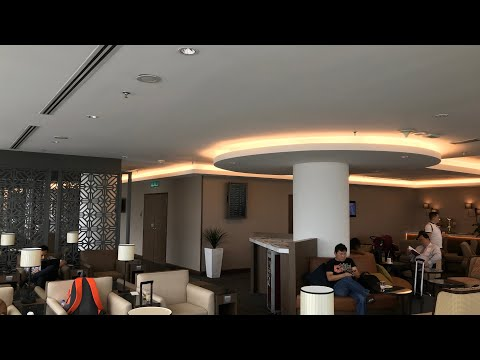 Malaysia Airlines NEW Golden Lounge 2018 (Domestic)