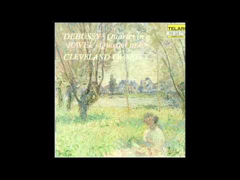 Cleveland Quartet - Debussy String Quartet in g