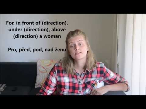 Czech Language - Grammatical Cases