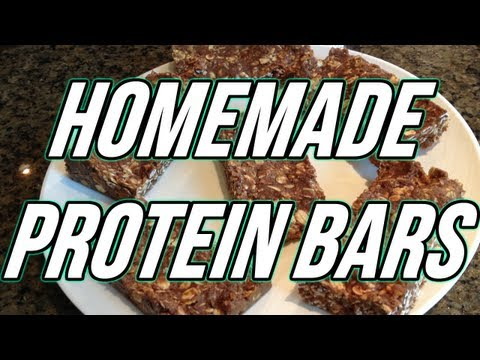 EASIEST HOMEMADE PROTEIN BARS (ONLY 4 INGREDIENTS)