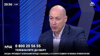 Гордон о Саакашвили, о том, хочет ли тот стать мэром Киева и о его политических амбициях