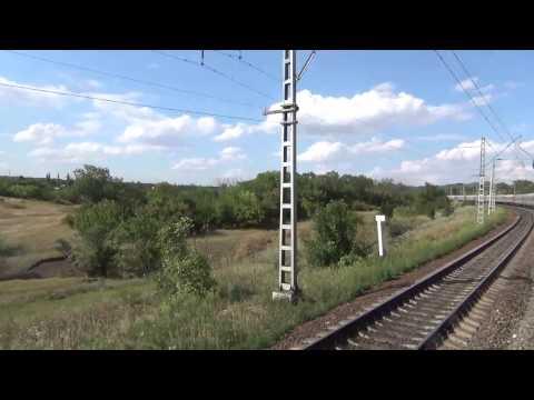 РЖД поезд 464 Шахтная отправление 19 часть