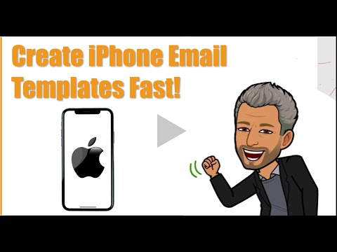 How to Create iPhone Email Templates
