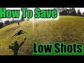 Goalkeeper training how to save low shots