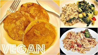 WHAT I ATE IN A DAY #9 (EASY VEGAN RECIPES)   Cheap Lazy Vegan
