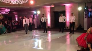 Indian Wedding Dance Performance 2014 (Groomsmen)
