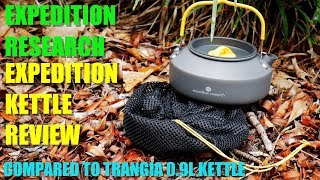 Is This the BEST Hiking Kettle? Expedition Research Kettle VS the Trangia Kettle