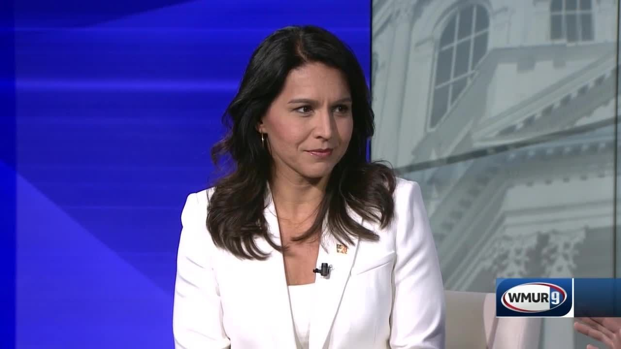 Gabbard Continues to Slam Clinton for Russian 'Grooming' Remarks