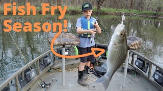 It's Fish Fry and Mushroom Season!