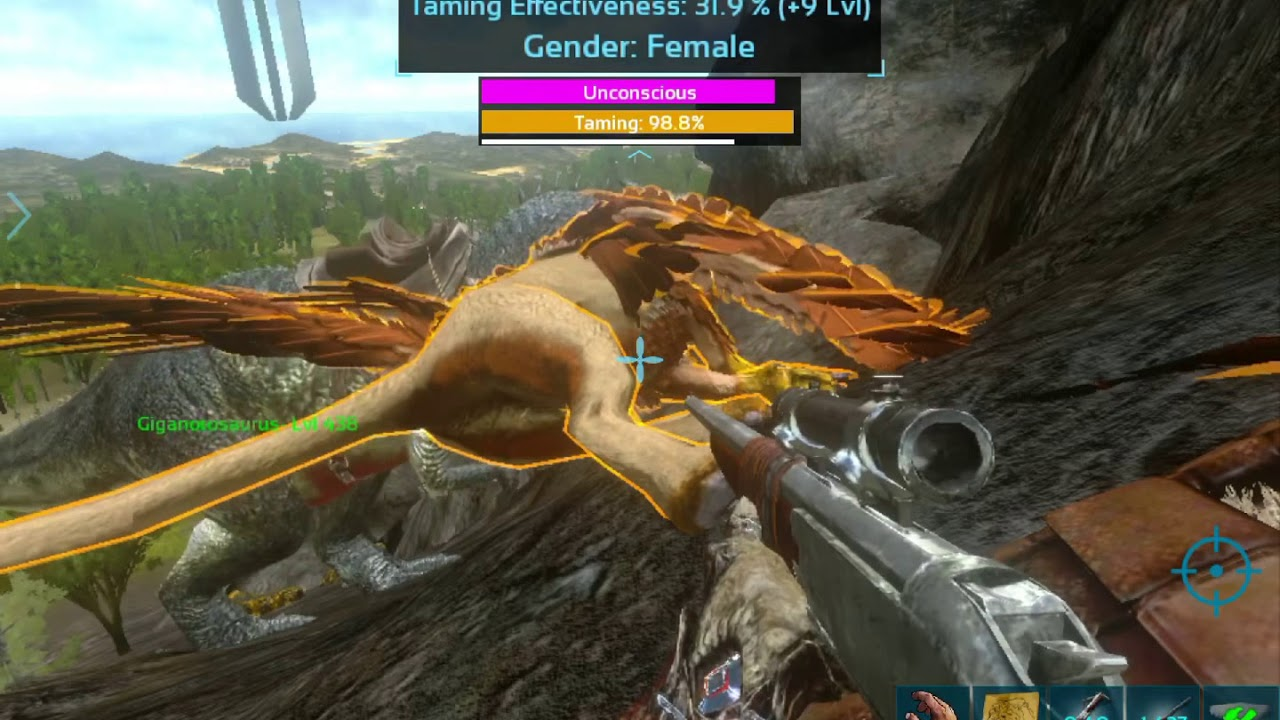 Ark mobile update (Griffin taming and location)