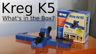 Kreg K5 Pocket Hole Jig - What's In The Box?